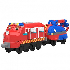 Chuggington Паровозик Уилсон с прицепом