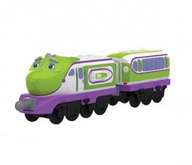 Chuggington Паровозик Коко с прицепом