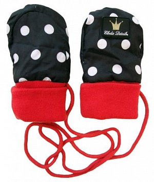 Elodie Details Rockabilly Dot варежки 0-12м
