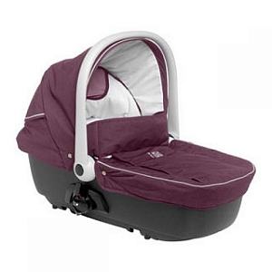 Red castle carrycot with carkit люлька с автокреплениями